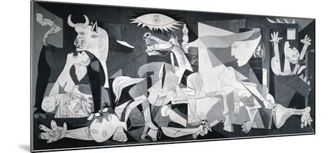 Guernica, 1937-Pablo Picasso-Mounted Art Print