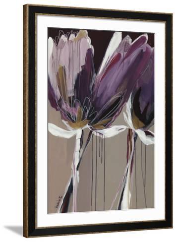 Aubergine Splendor II-Angela Maritz-Framed Art Print