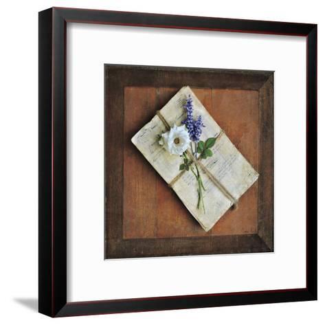 Letters To Home I-Cristin Atria-Framed Art Print
