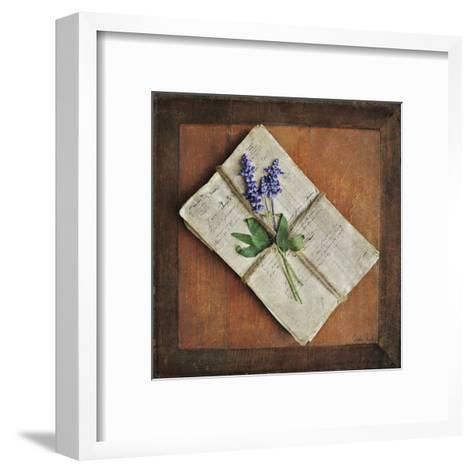 Letters To Home II-Cristin Atria-Framed Art Print