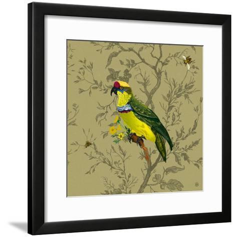 Pisticule Parrot-Timorous Beasties-Framed Art Print