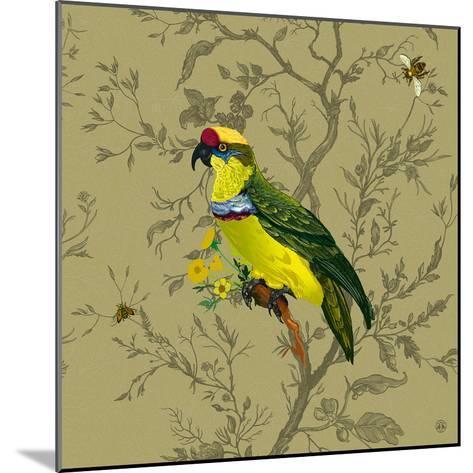 Pisticule Parrot-Timorous Beasties-Mounted Art Print