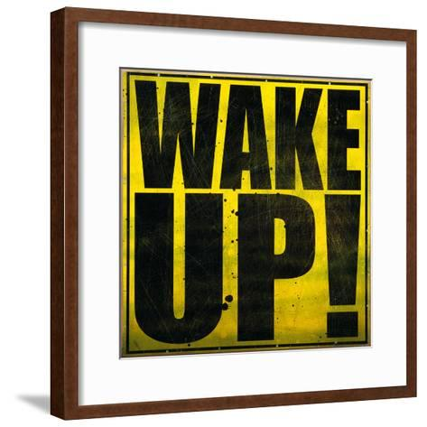 Wake Up!-Daniel Bombardier-Framed Art Print