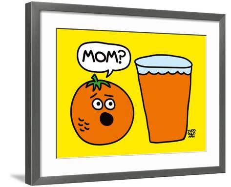 Mom OJ-Todd Goldman-Framed Art Print