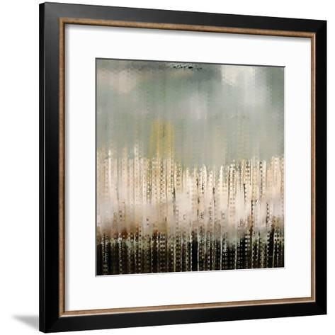 Pixel Shower-Mark Lawrence-Framed Art Print