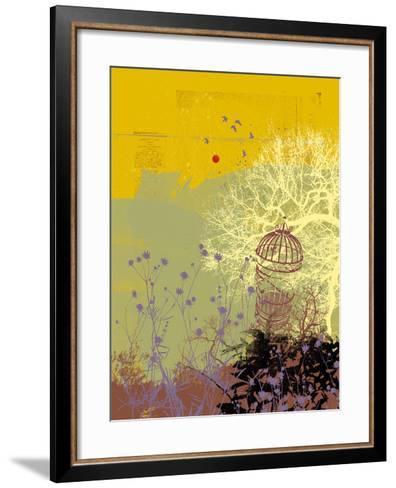 Moon Song I-Ken Hurd-Framed Art Print