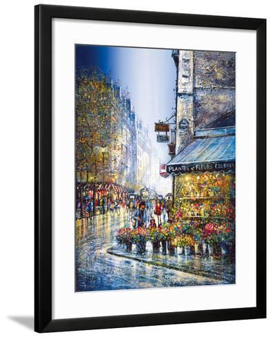 Rue du Bac-Guy Dessapt-Framed Art Print