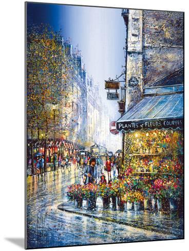 Rue du Bac-Guy Dessapt-Mounted Giclee Print