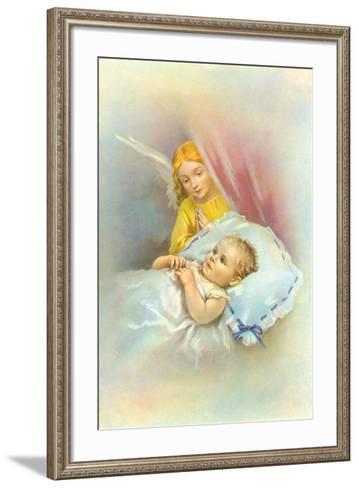 Angelic Slumber II-The Victorian Collection-Framed Art Print