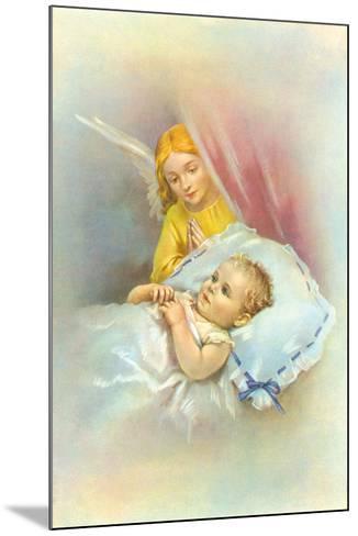 Angelic Slumber II-The Victorian Collection-Mounted Giclee Print