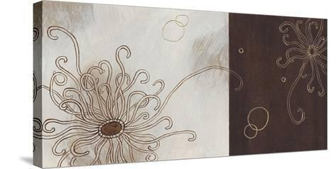 Balancing Blossoms II-Arleigh Wood-Stretched Canvas Print