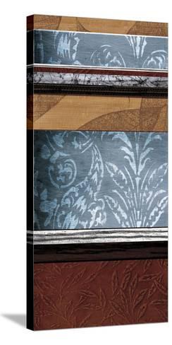 Pillars of Pattern II-W^ Blake-Stretched Canvas Print