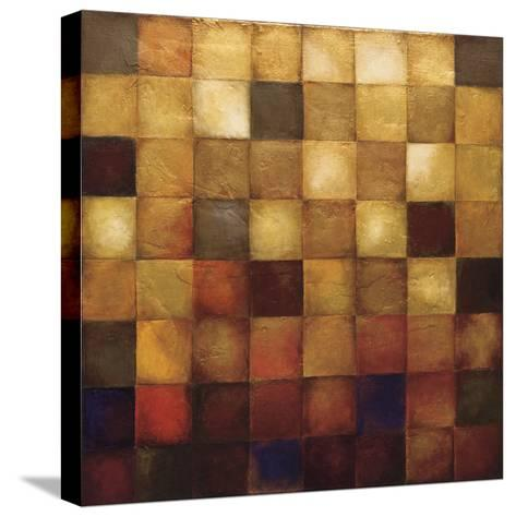 Cerveny-Wani Pasion-Stretched Canvas Print