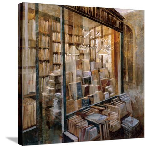 Librairie-Noemi Martin-Stretched Canvas Print
