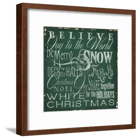 Holiday Type IV-Elizabeth Medley-Framed Art Print