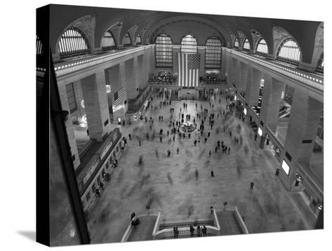 Grand Central Station Interior-Christopher Bliss-Stretched Canvas Print
