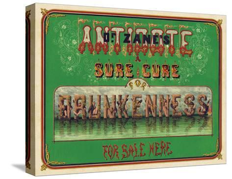 Dr. Zane?s Antidote, c. 1864--Stretched Canvas Print