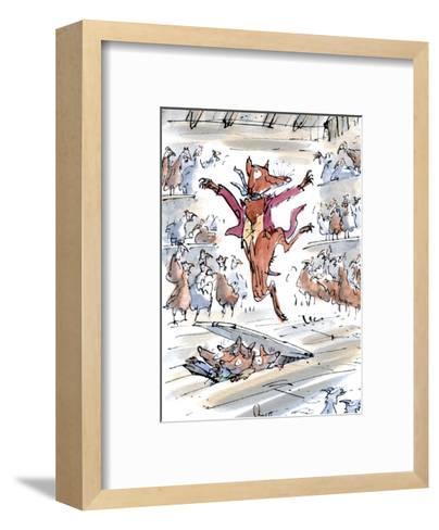 Fantastic Mr Fox-Quentin Blake-Framed Art Print