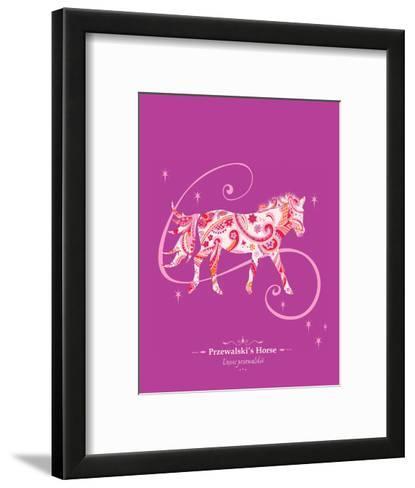 WWF Przewalski's Horse - Animal Tails-Annette D'Oyly-Framed Art Print