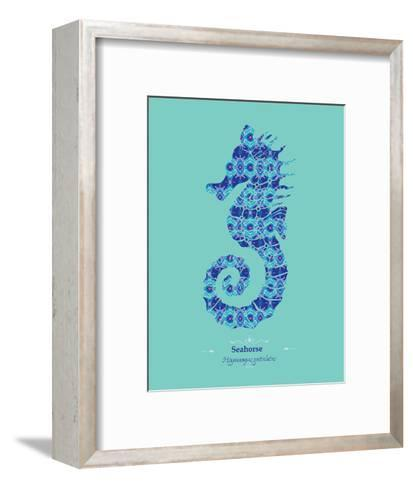 WWF Spiny Seahorse - Animal Tails-Annette D'Oyly-Framed Art Print