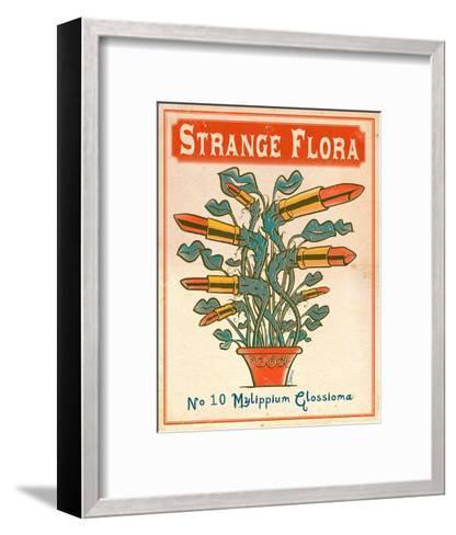 No.10 Mylippium Glossioma-Phil Garner-Framed Art Print