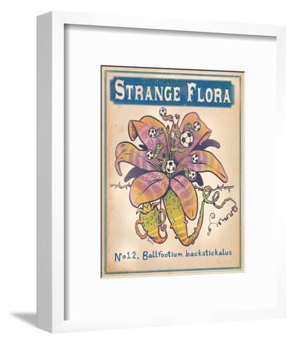 No.12 Ballfootium Backstickalus-Phil Garner-Framed Art Print