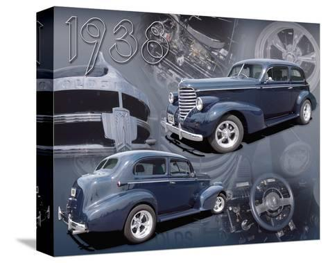 1938 Olds--Stretched Canvas Print