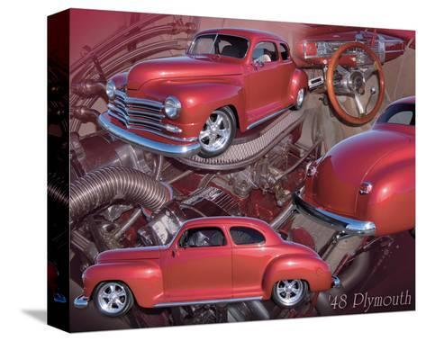 1948 Plymouth--Stretched Canvas Print