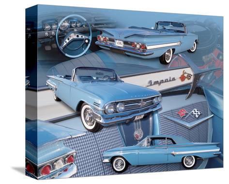 1960 Impala--Stretched Canvas Print