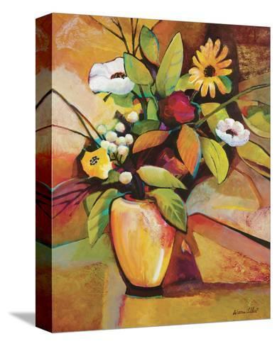 Vivid Still Life III-Warren Cullar-Stretched Canvas Print