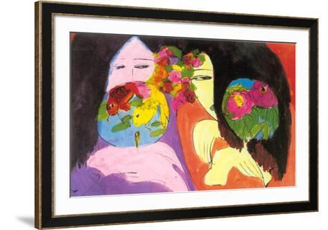 Little Whisper-Walasse Ting-Framed Art Print