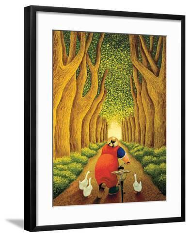 Home from the Market-Lowell Herrero-Framed Art Print