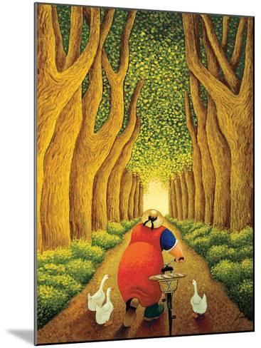 Home from the Market-Lowell Herrero-Mounted Art Print
