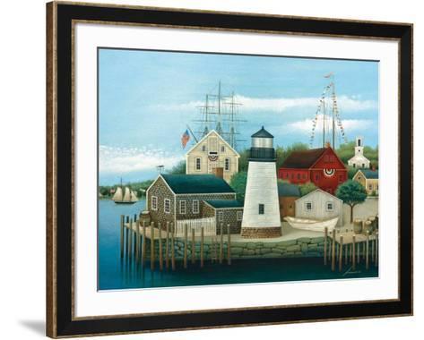 Mystic-Lowell Herrero-Framed Art Print