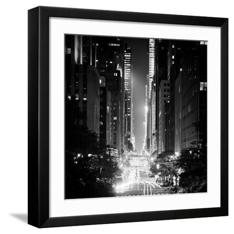 42nd Street-Adam Garelick-Framed Art Print