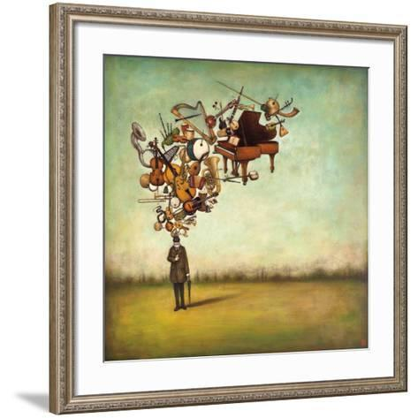 Thanks for the Melodies-Duy Huynh-Framed Art Print