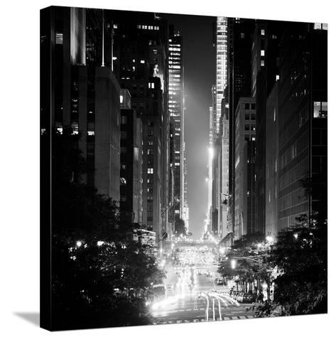 42nd Street-Adam Garelick-Stretched Canvas Print