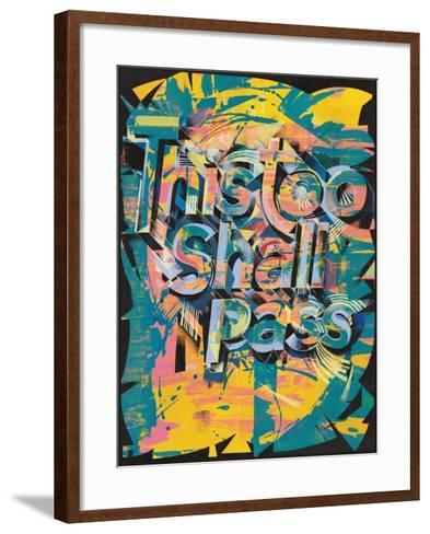 This Too Shall Pass-Jamie Lawson-Framed Art Print