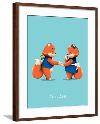 True Love-Nick Slater-Framed Art Print
