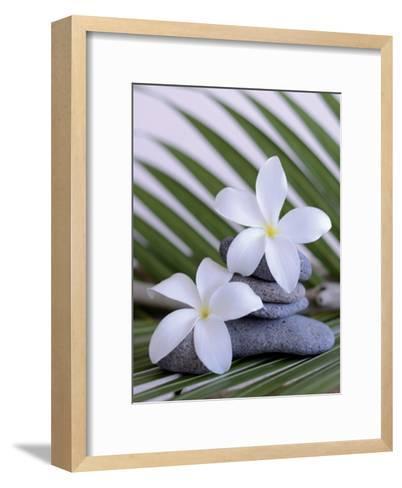 Zen et galets I-Chatelain-Framed Art Print