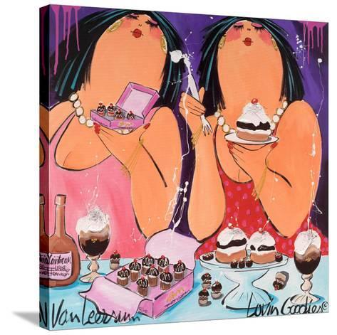 Lov'in Goodies-El Van Leersum-Stretched Canvas Print