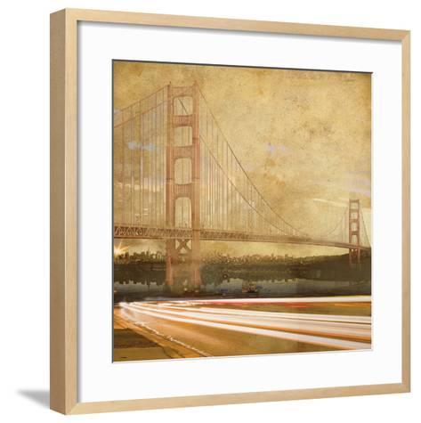 Golden Gate Parkway-Andrew Sullivan-Framed Art Print