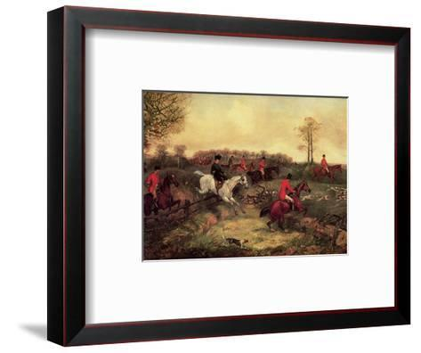 Breaking Cover-Henry Thomas Alken-Framed Art Print