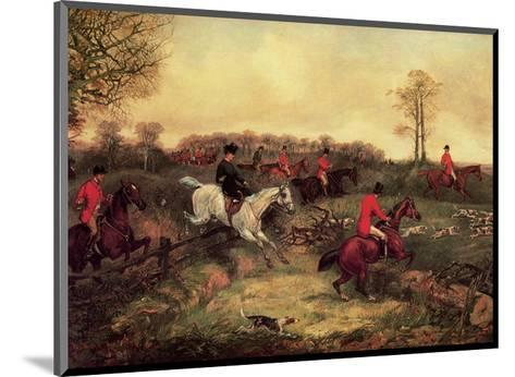 Breaking Cover-Henry Thomas Alken-Mounted Art Print