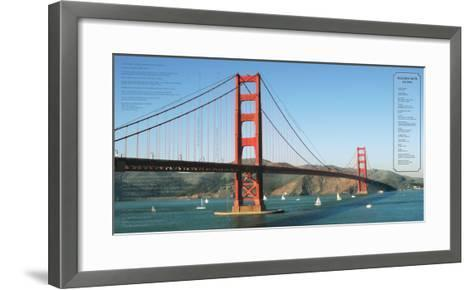 Golden Gate Architecture-Phil Maier-Framed Art Print