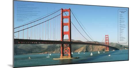 Golden Gate Architecture-Phil Maier-Mounted Art Print
