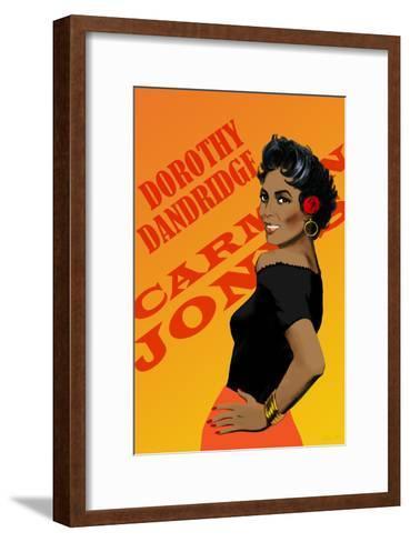 Dorothy Dandridge-Clifford Faust-Framed Art Print