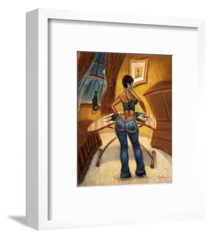 See You in Five Minutes-Sterling Brown-Framed Art Print