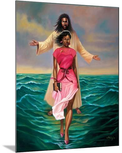 He Walks with Me-Sterling Brown-Mounted Art Print
