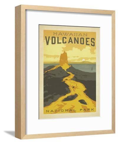 Hawaiian Volcanoes-Anderson Design Group-Framed Art Print